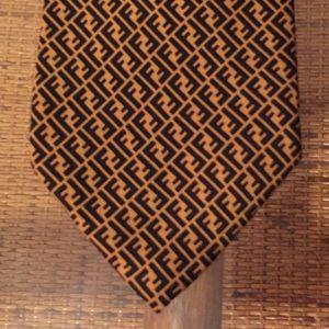 Fendi Cravatte was tie